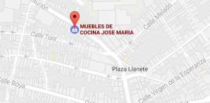 Dirección de tienda de muebles de cocina José María en Estepa