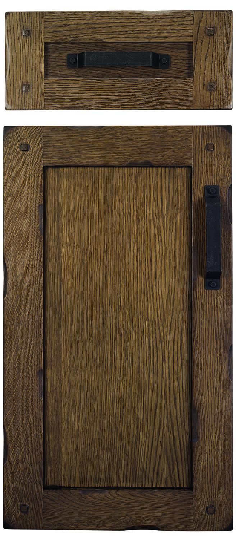 Puerta de cocina de madera Modelo Castilla Madera: Roble. Color 202 Patinado